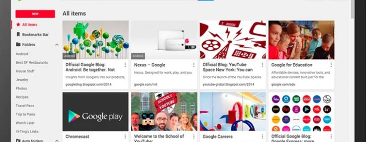 Google releases its new 'Stars' Bookmark Manager for Chrome via TNW