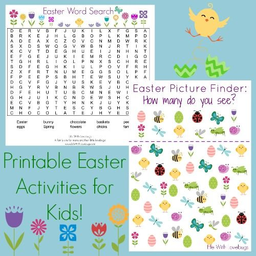 Easter Word Search & Picture Finder