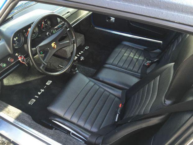 Immaculate restoration 1970 porsche 914 6 in adriatic - Auto interior restoration products ...