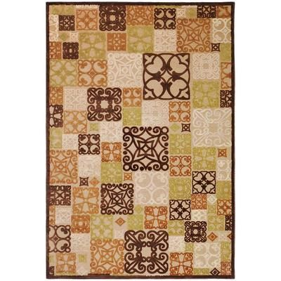 Artistic Weavers - Tyler Natural Viscose/Chenille  Area Rug - 7 Feet 6 Inches x 10 Feet 6 Inches - TYL8000-76106 - Home Depot Canada