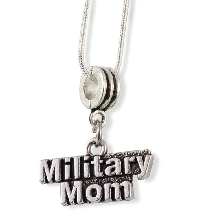 Military Mom Snake Chain Necklace