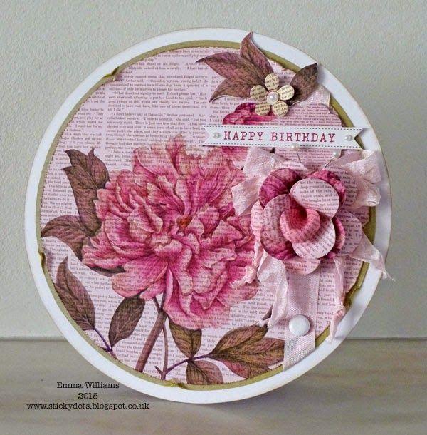 Craftwork Cards Blog: Botanical Rose by Emma Williams