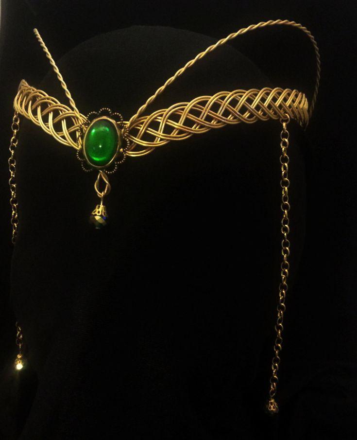 Gold+Celtic+Circlet+Hobbit+Handfasting+elven+by+ElvenstarDesign,+£29.99