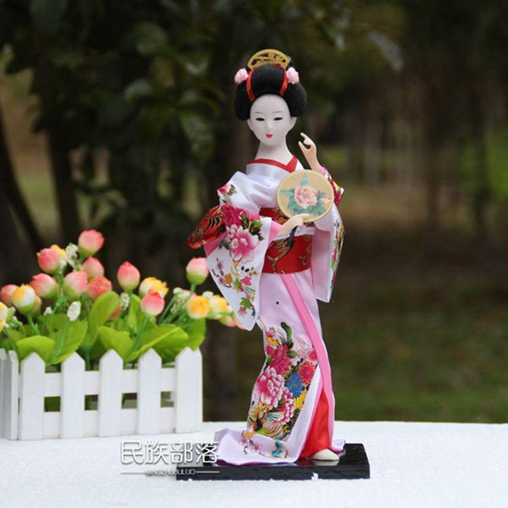 Декоративное искусство дома новизны орнамент традиционная культура японские гейши кукла ручной работы купить на AliExpress