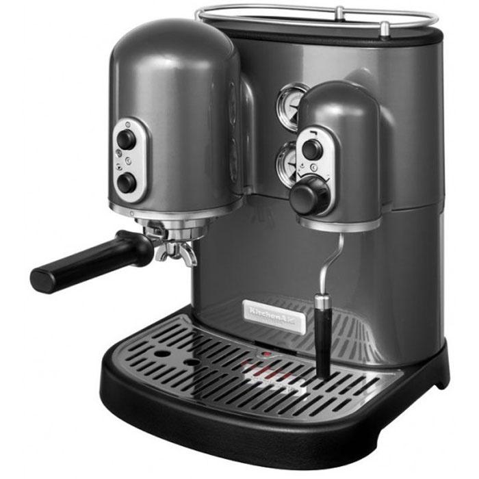 Macchina per Caffeè Espresso Artisan - Grigio metallizzato