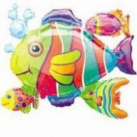 Cluster Tropical Fish $22.95 (filled with Helium in Store) U07647