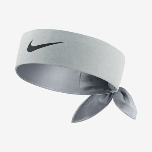Nike Tennis Headband Short Head Tie 646191 076 Grey Rf Nadal Federer Soccer Nike Headbands Nike Tie Headbands Headbands
