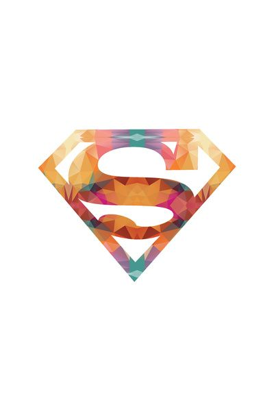 Tribal Superman Art Print