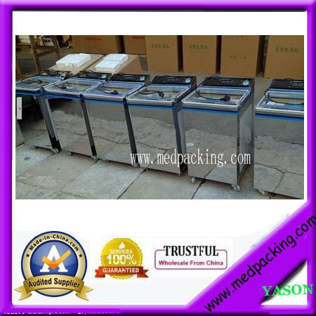 Operation panel in both Chinese and English The tea food vacuum packaging machine vacuum machine