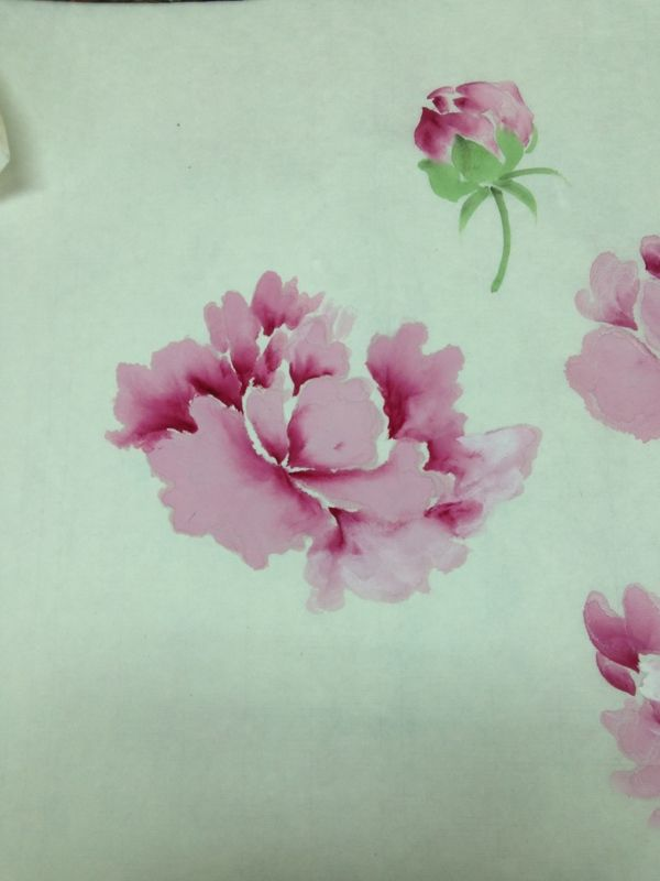 chinese painting techniques of peony - Google Search