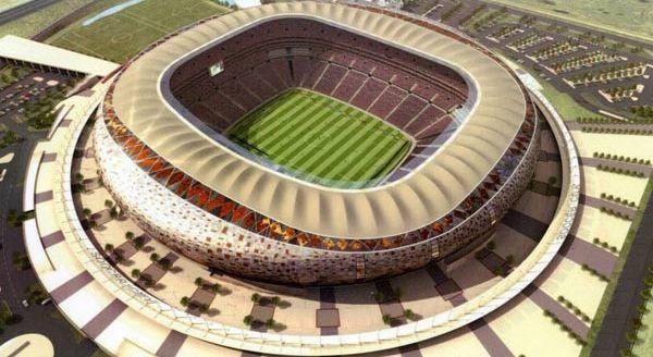 Stadion Soccer City di Afrika Selatan