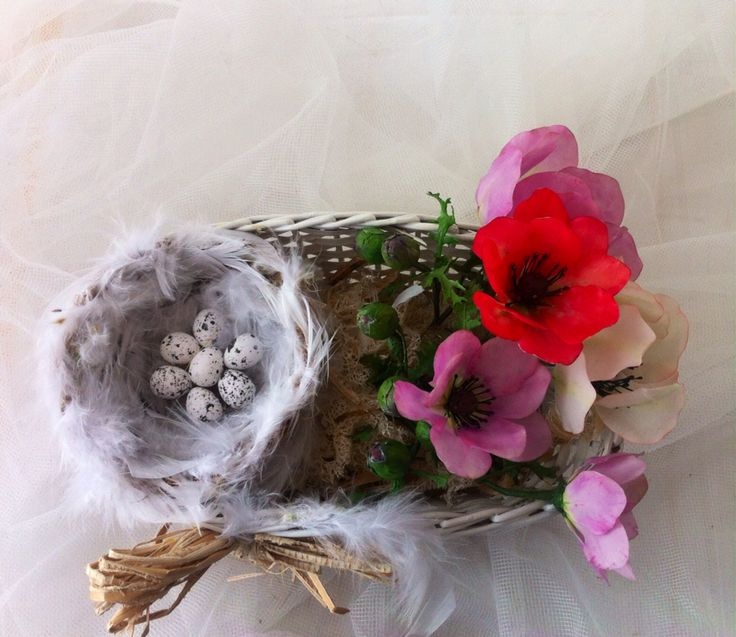 Easter basket, by Natasha Waldron