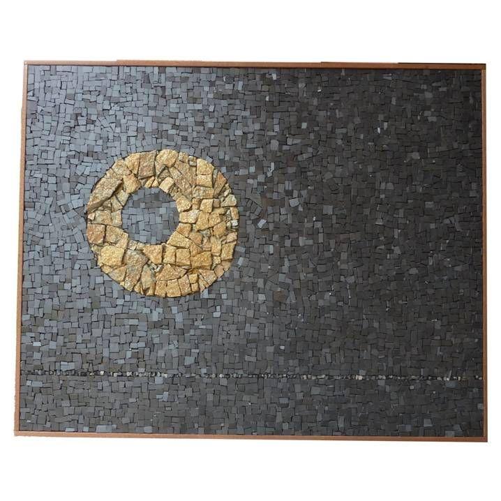 The moon - mosaico The moon - mosaic