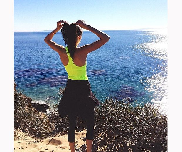Kendall Jenner spills her top fitness and workout secrets... (Hello, bikini body): http://lookm.ag/8OXLrQ