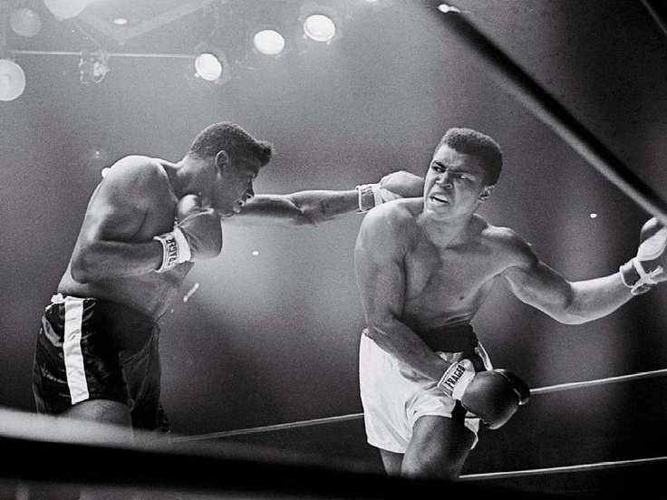 Clay versus Floyd Patterson