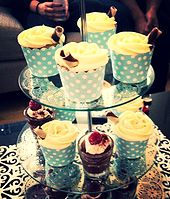 Vanilla Cupcakes with Cream Cheese Frosting by B.A.K.E.D, Perth WA