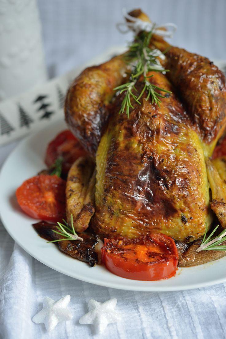 Poulet farci sous la peau à la Pistache - Safran Gourmand