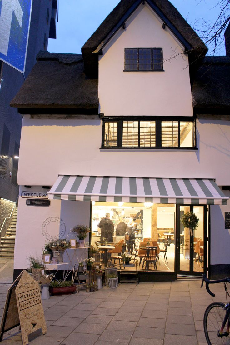 Our brand new concept store is based on Westlegate Norwich, in the beautiful thatched building.  www.waringsathome.co.uk