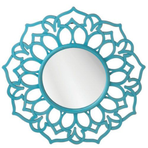 Disney Frozen room decor for kids - just add a turquoise colored mirror like this one.