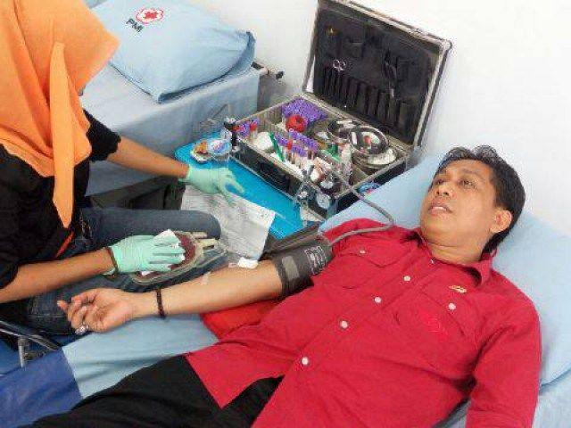 Donor Darah Warnai Ultah PDIP Ke 43
