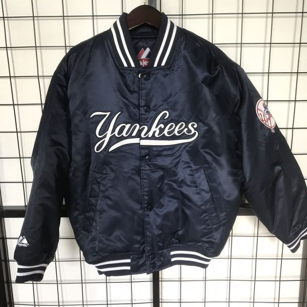 MLB New York Yankees Majestic Stadium Youth Bomber Jacket