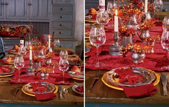 5 Quick and Cheap Thanksgiving Decorating Ideas!