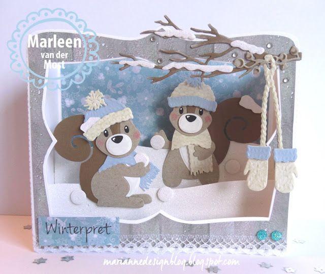 Marianne Design Blog: Winterpret