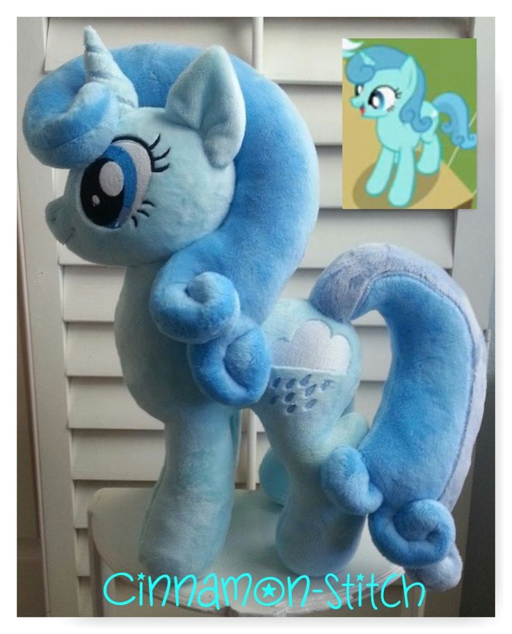 My little pony Plush Commission OCEAN by CINNAMON-STITCH.deviantart.com on @DeviantArt