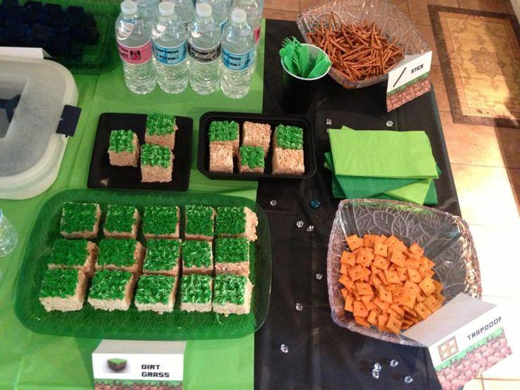 18 best minecraft party ideas images on pinterest birthdays minecraft birthday party forumfinder Choice Image