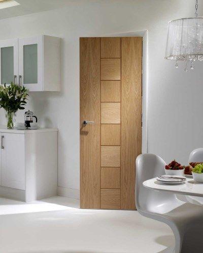 Messina Oak Internal Door #contemporarydoors: