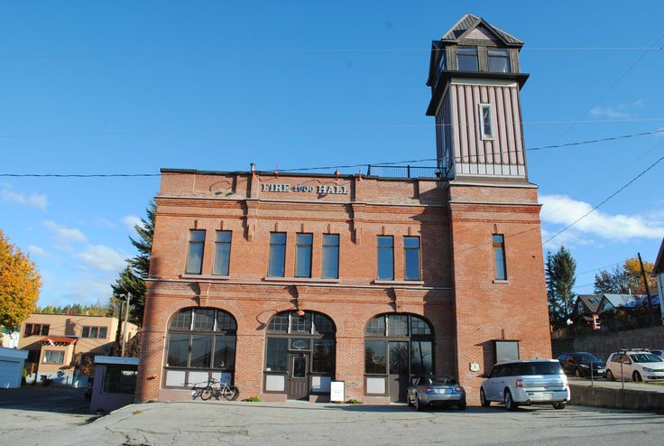 Old Fire Hall in Rossland BC, Heritage BC Annual Conference workshop venue  CR: Lorri Dauncey