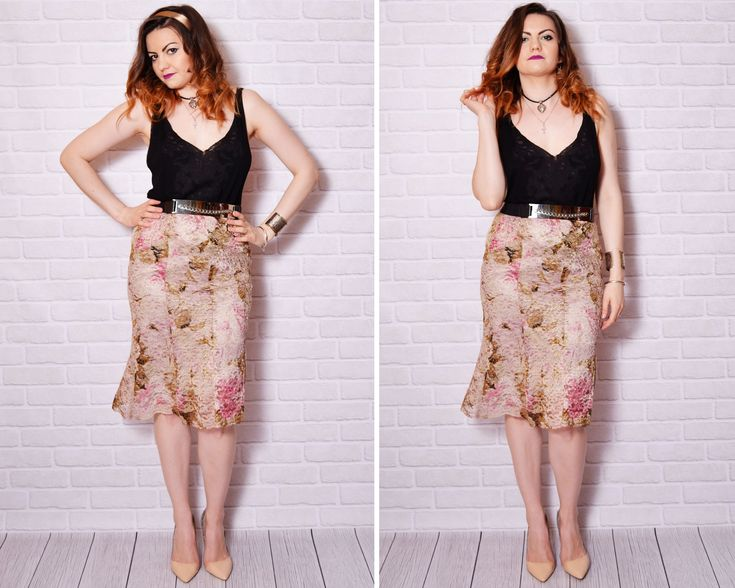 #lace #skirt #boho
