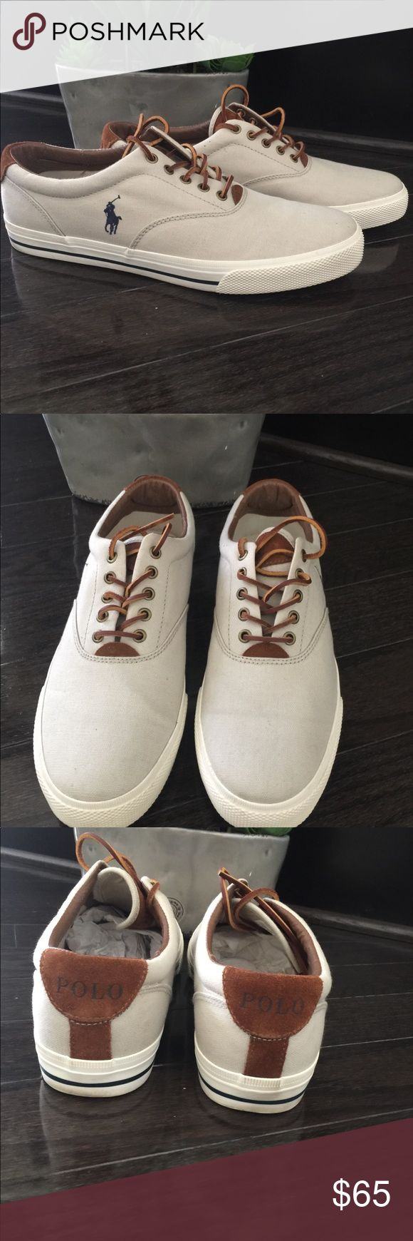 Ralph Lauren Polo Vaughn Shoes- Beige Used/ great condition barely worn. US size 13 UK 12 EUR 47.5 Polo by Ralph Lauren Shoes