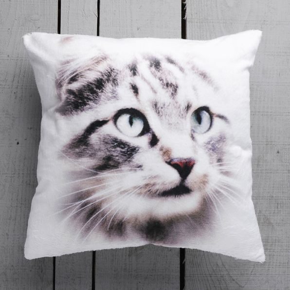 Cat Decorative Pillow Cover