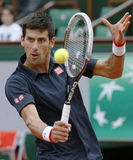 Novak Djokovic, French Open、2014.
