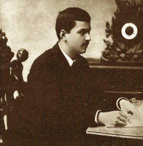 Enescu la 20 ani