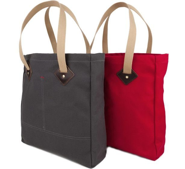 First Look: New Totes from Archival Clothing - Best Tote Bags for Men 2012 - Esquire