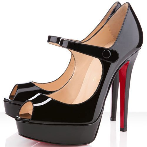 2015 Cheap Christian Louboutin Bana Pumps Black Outlet Online With Free  Shopping.