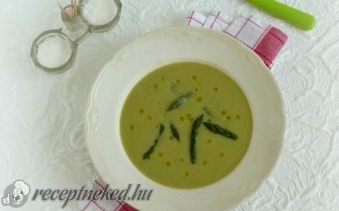 Spárgakrémleves recept fotóval