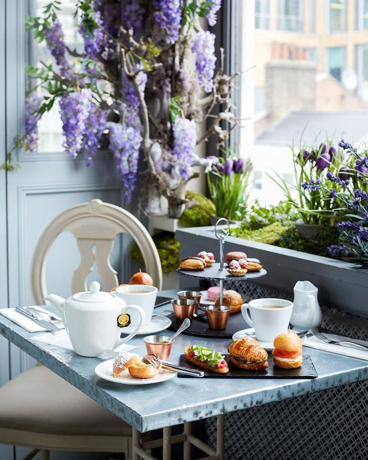 Taken by @selfridges to show off our Afternoon Tea