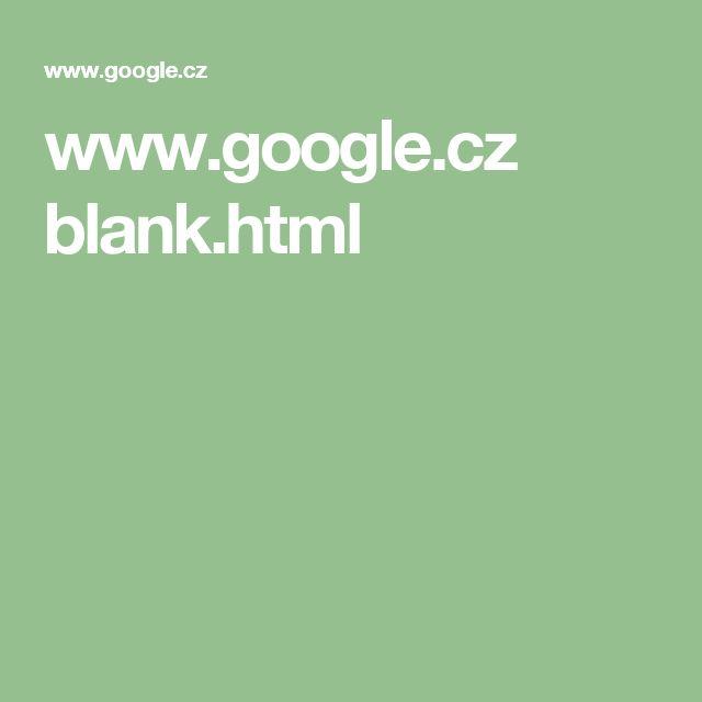 www.google.cz blank.html