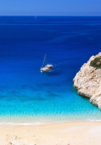Kaş, Turkey.... A beautiful spot, but maybe not when visiting the right size