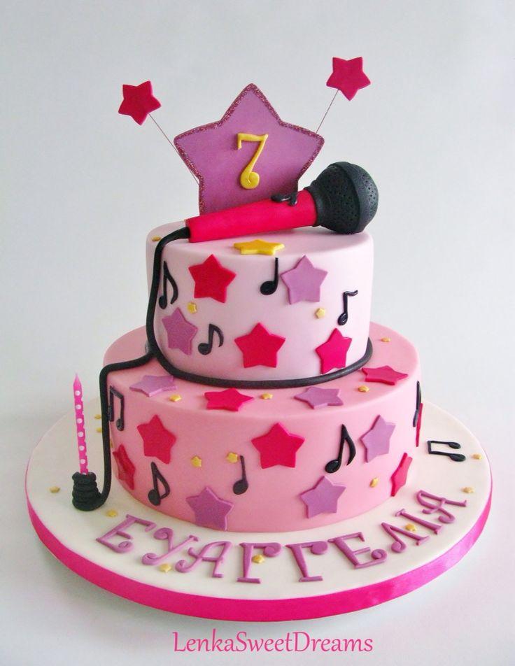 Microphone cake