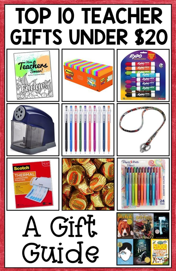 10 Best Teacher Gifts Under 20 Recommendations By Teachers Best Teacher Gifts Teacher Gifts Best Teacher
