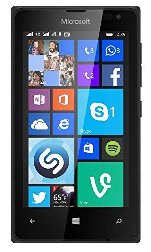 Microsoft Lumia 435 8GB Unlocked GSM Windows 8 Smartphone - Black (International version, No Warranty) - http://www.myfrequent.com/microsoft-lumia-435-8gb-unlocked-gsm-windows-8-smartphone-black-international-version-no-warranty/