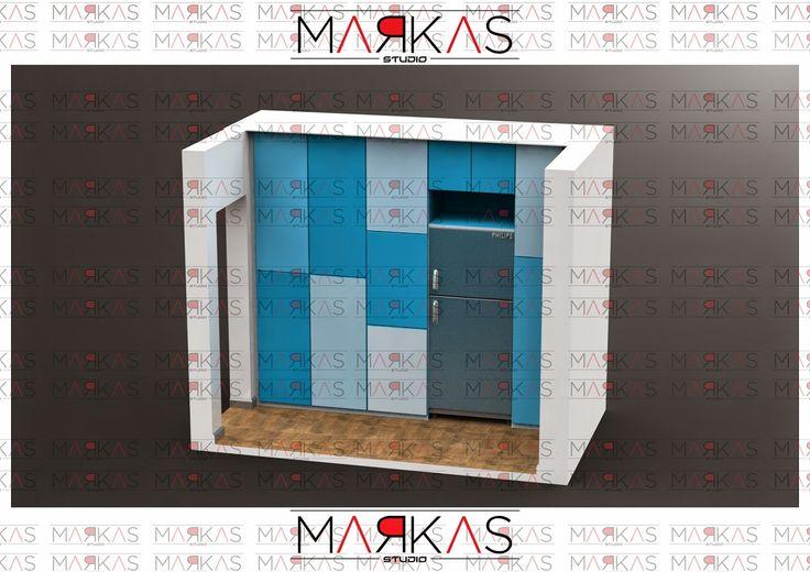 markas studio: Blue Kitchen (SIMPLE)