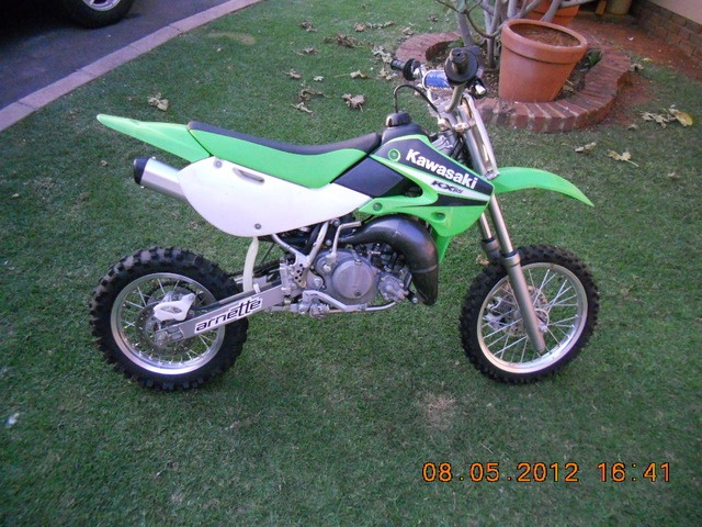 kawasaki kx 65 for sale check out this advert on junk mail. Black Bedroom Furniture Sets. Home Design Ideas