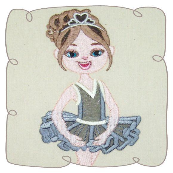 Jowita Ballerina 6: Embroidershoppe