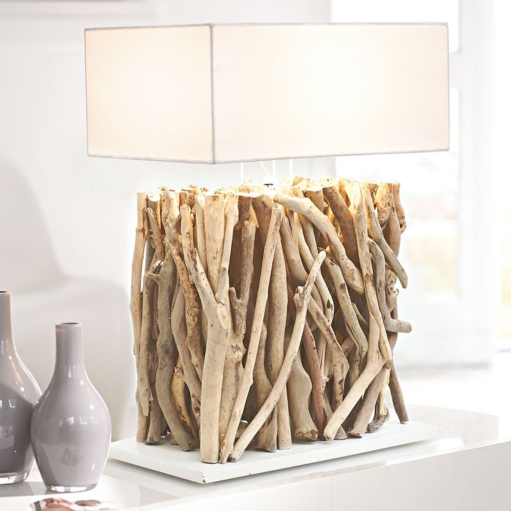 Twigs And Branches Base Lamp Shade Creatively Unique