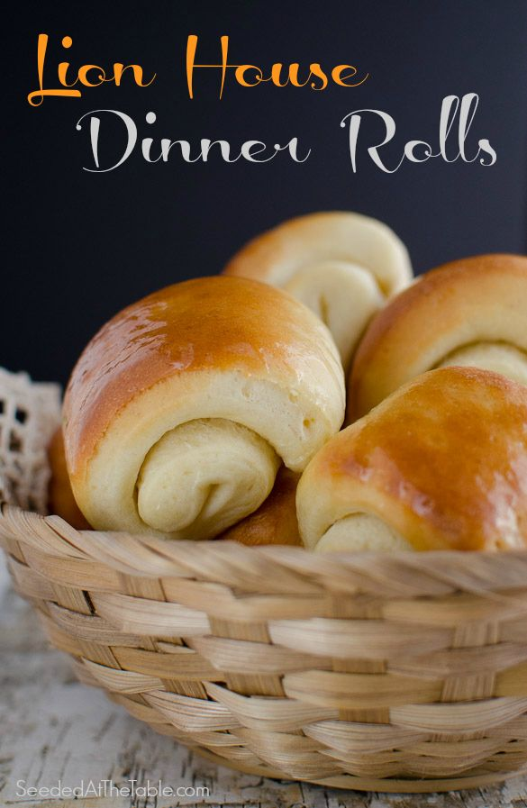 Soft and buttery Lion House Dinner Rolls by SeededAtTheTable.com